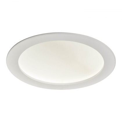DOWNLIGHT LED CIRCULAIRE CONCAVE 24W 4000K BLANC